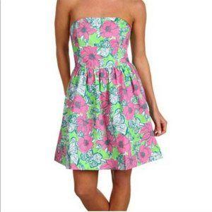 Lilly Pulitzer Lottie Bloomin Cocoonin Dress 8